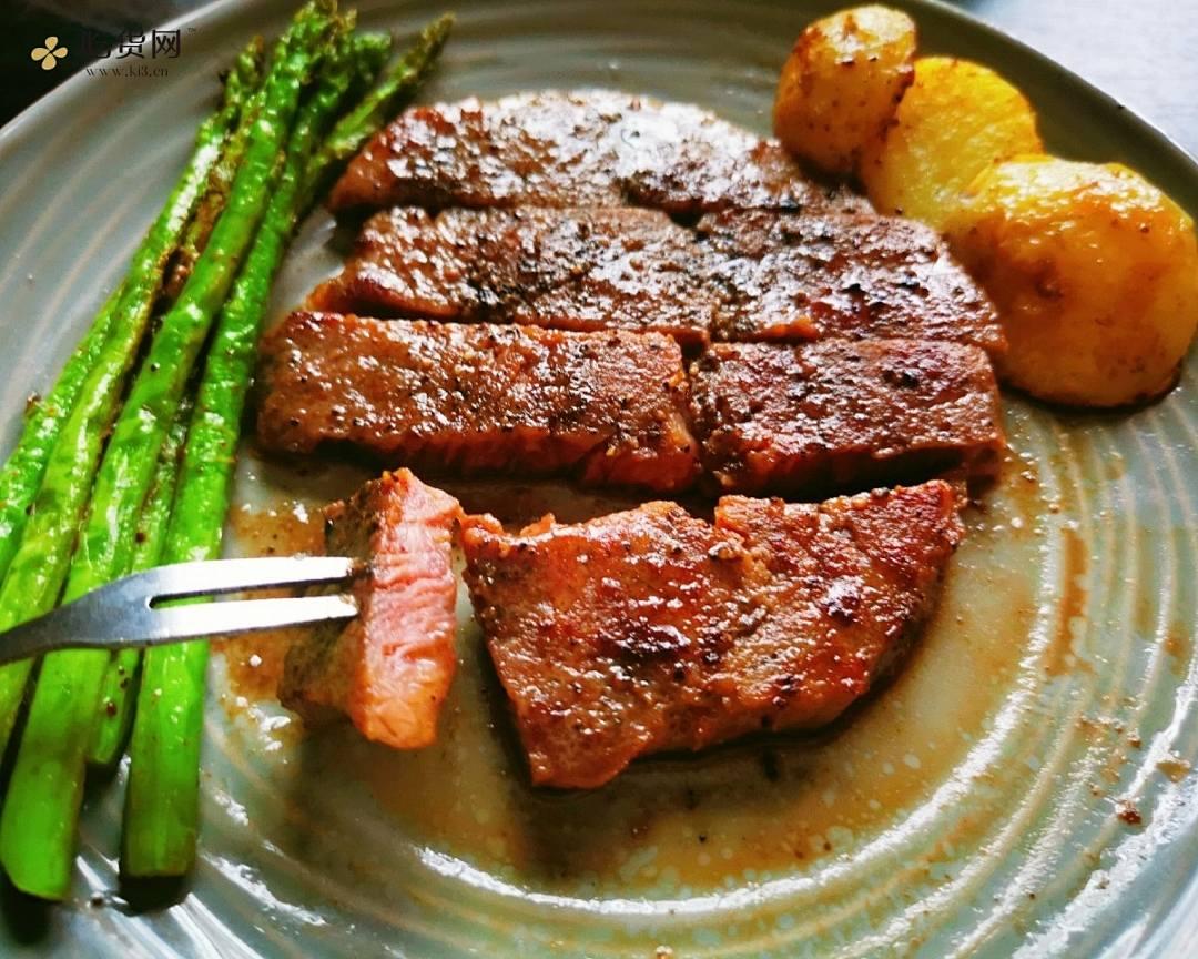 十分钟速煎牛排的做法 步骤6