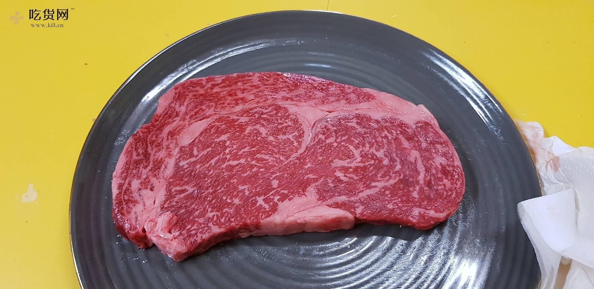 煎和牛排-入口即化的做法 步骤1