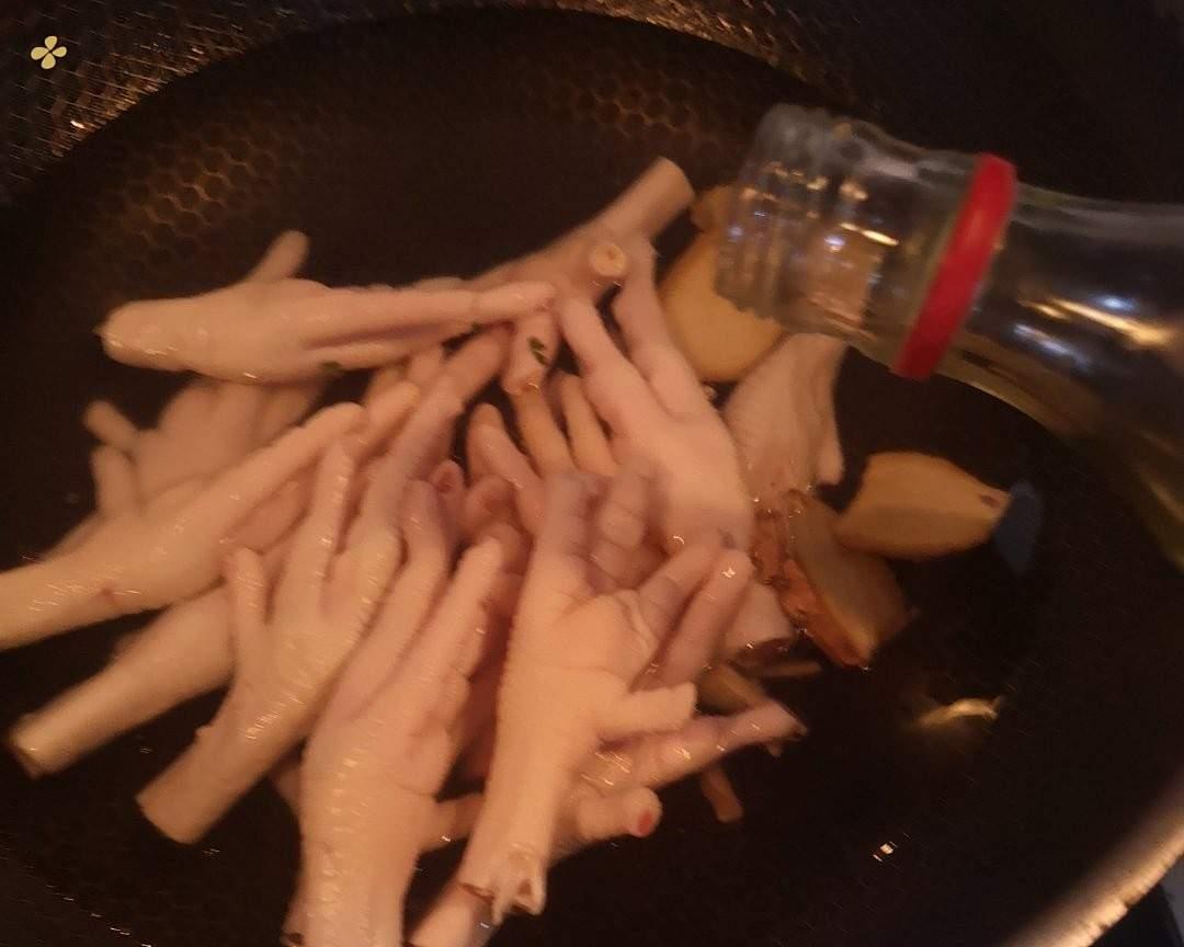 酸辣劲爆的柠檬鸡爪🍋安排的做法 步骤4