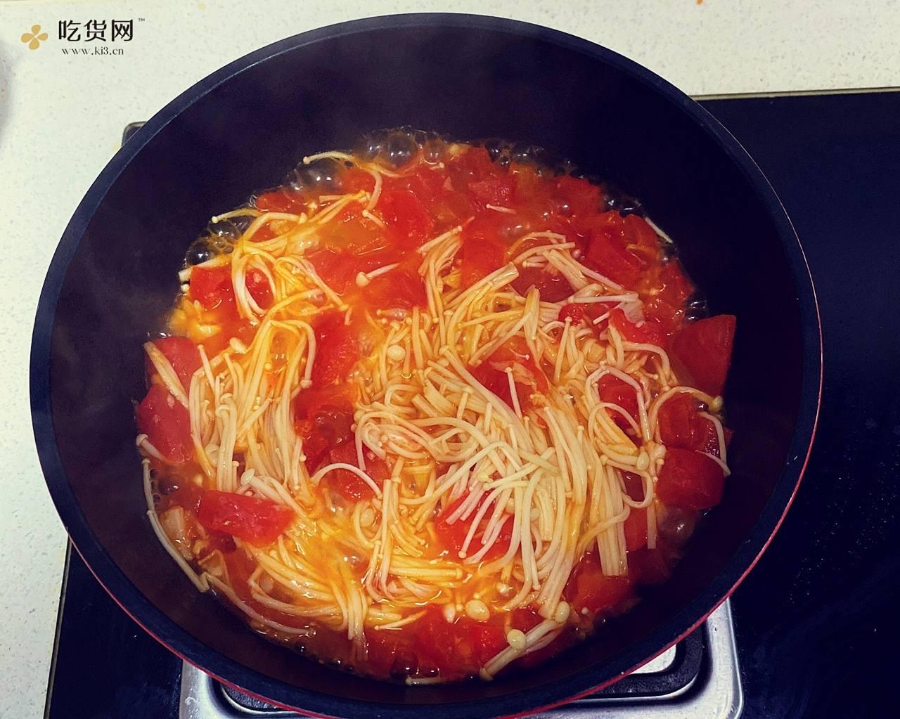 减肥餐-番茄巴沙鱼汤的做法 步骤7