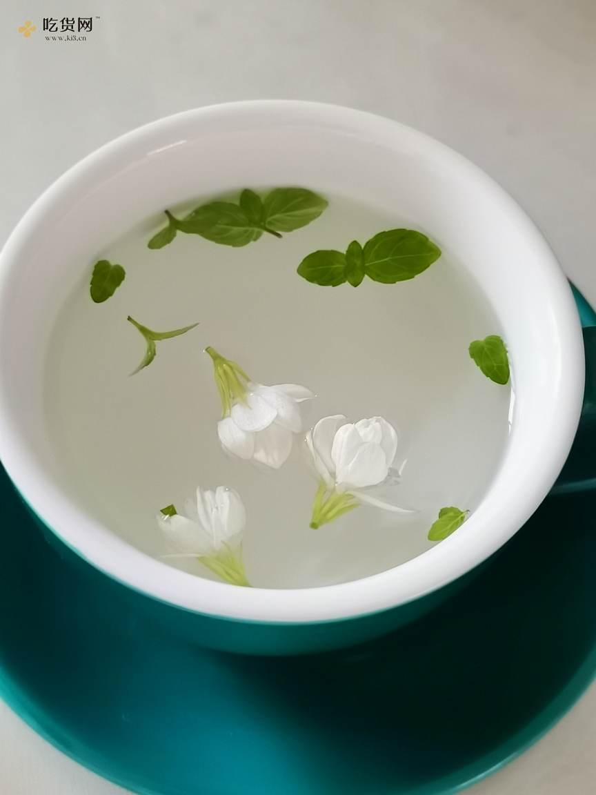 薄荷茉莉蜂蜜水的做法 步骤4