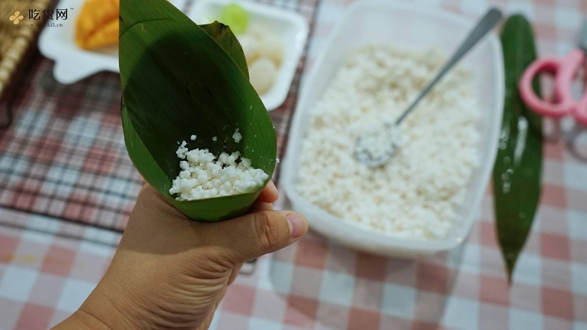 鲜果水晶粽ー用30分钟仪式感满满呈现的做法 步骤5