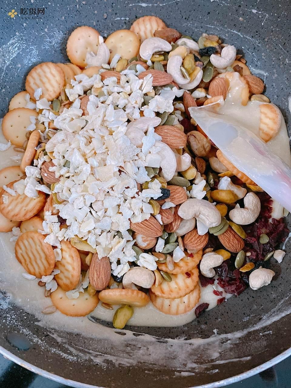 榴莲&草莓🍓雪花酥的做法 步骤9
