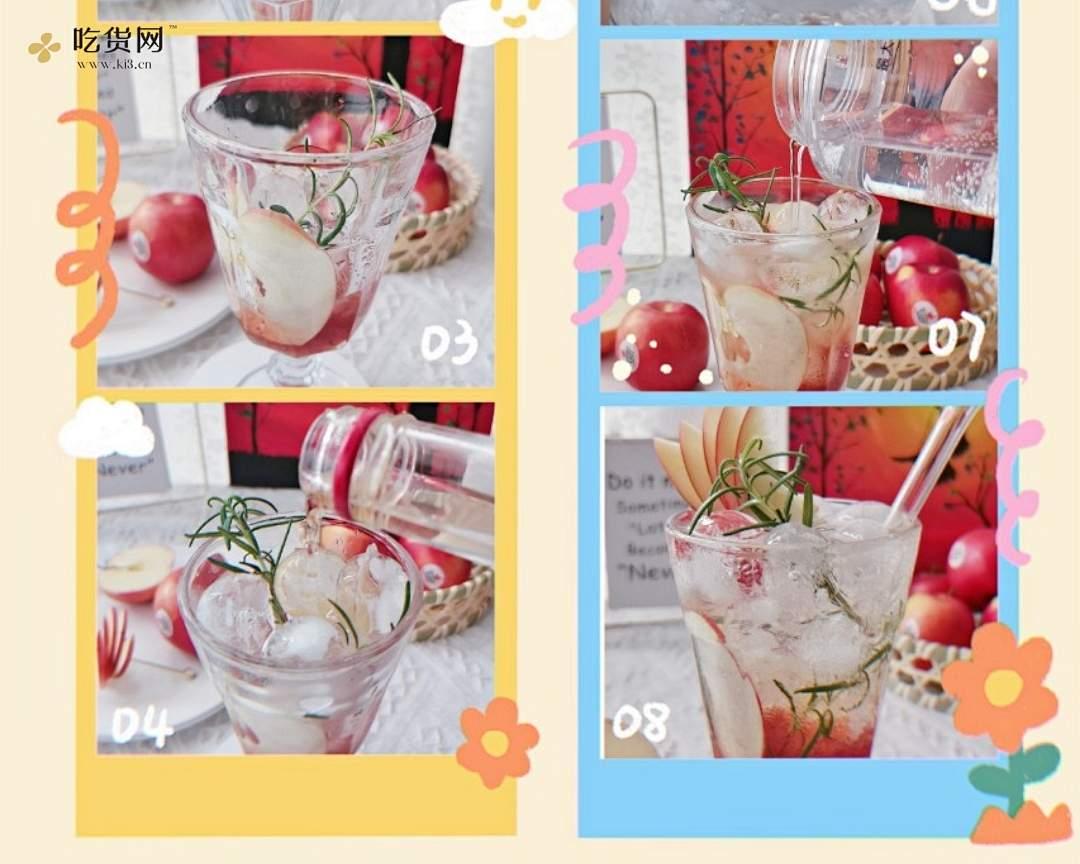 草莓苹果气泡酒的做法 步骤2
