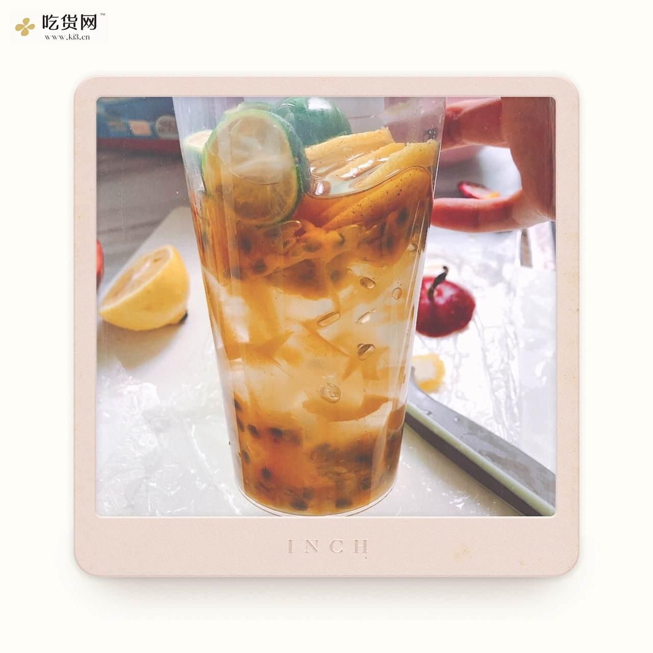 百香果柠檬金桔蜂蜜水🍯的做法 步骤6