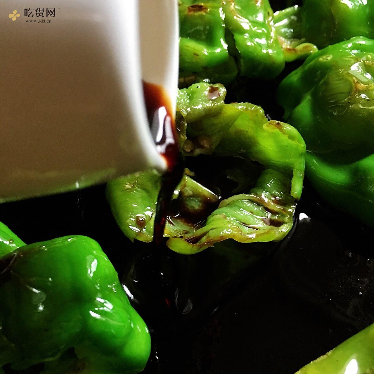 🔥下饭【古早·虎皮青椒】私房做法·不需大蒜和调汁的做法 步骤9