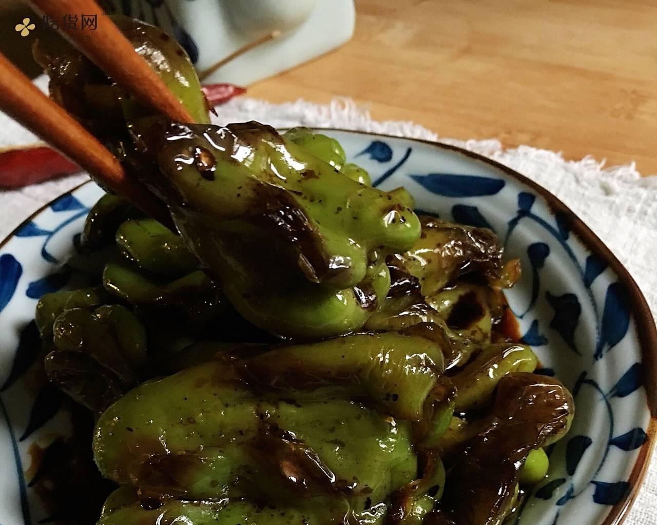 🔥下饭【古早·虎皮青椒】私房做法·不需大蒜和调汁的做法 步骤16