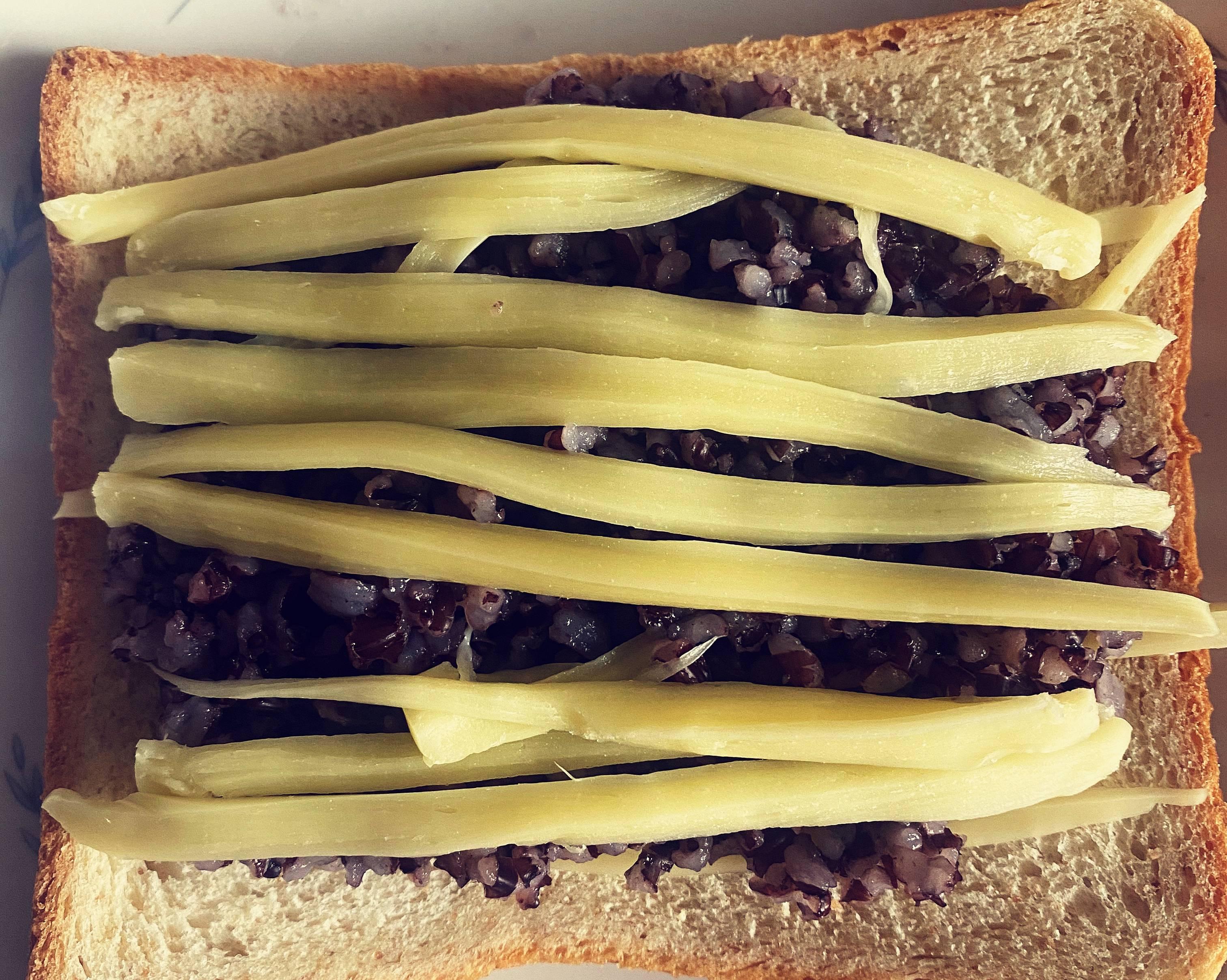 解馋减肥餐—紫米面包的做法 步骤2