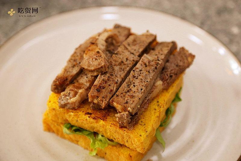 牛排三明治----健康减肥必备的做法 步骤12