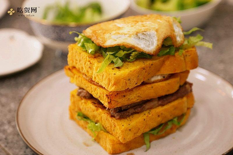 牛排三明治----健康减肥必备的做法 步骤13