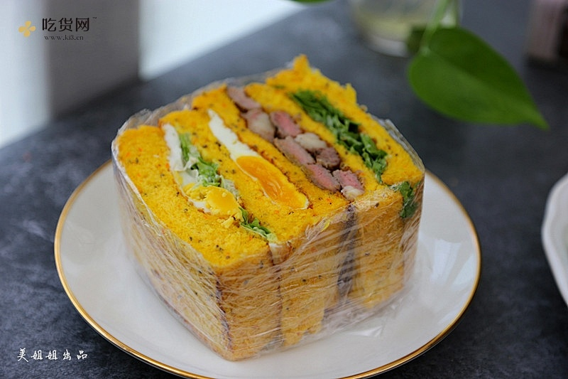 牛排三明治----健康减肥必备的做法 步骤15