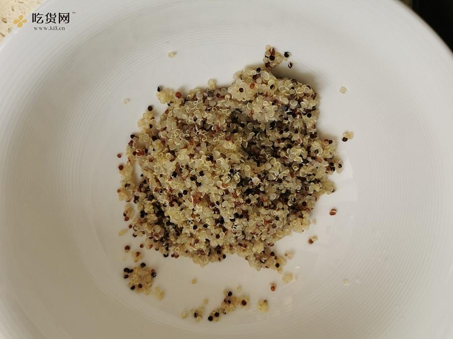 减脂餐-韓式黎麦鸡脯肉拌饭的做法 流程4