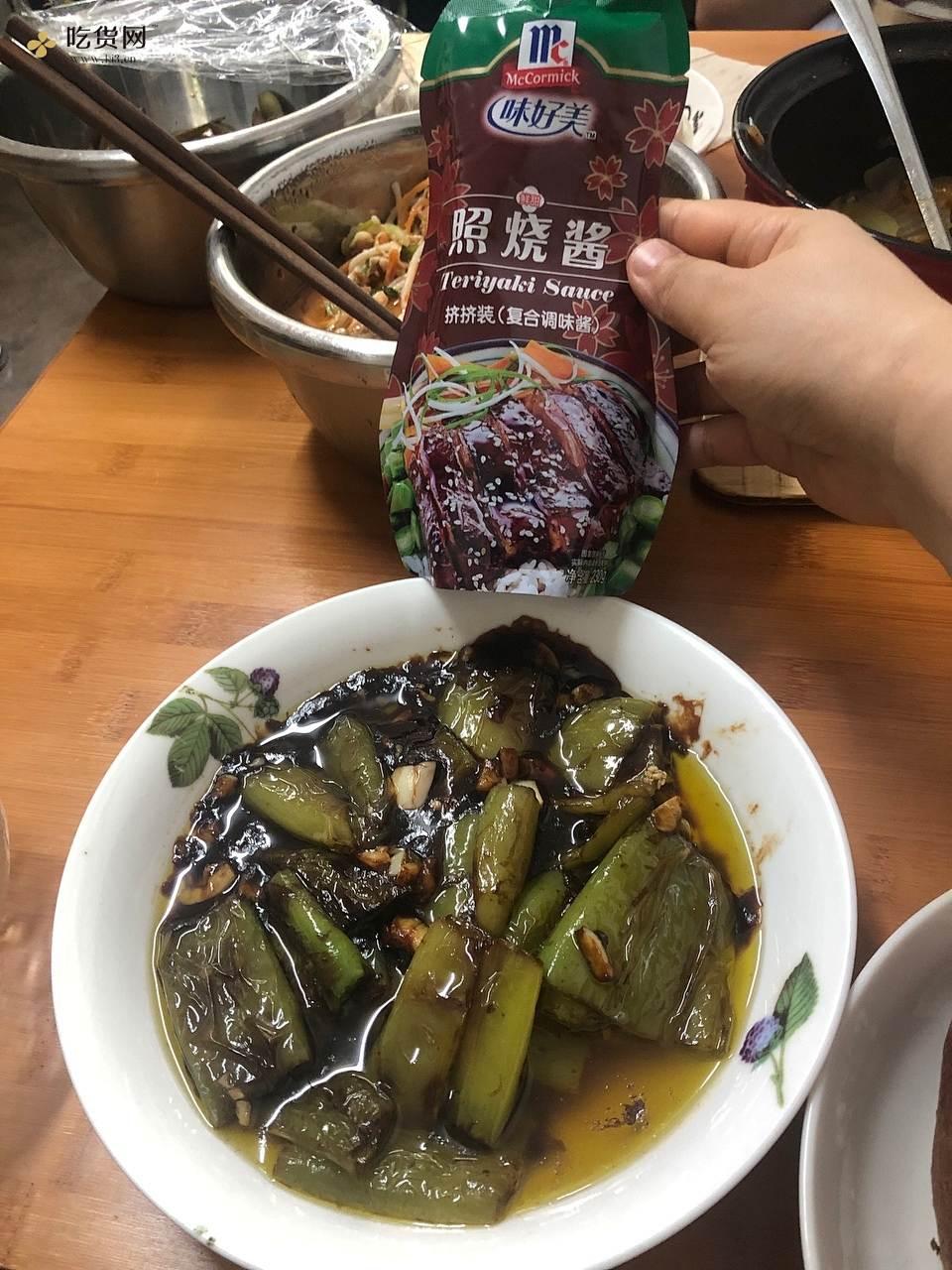 虎皮尖椒——照烧风味的做法 步骤4