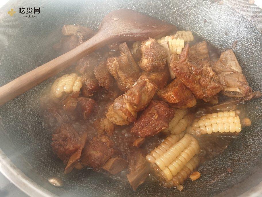 红烧排骨玉米,国宝大师菜谱的做法 步骤7
