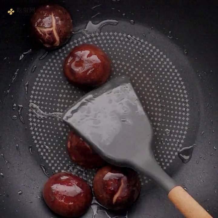 减肥餐香菇烧冬瓜的做法 步骤2