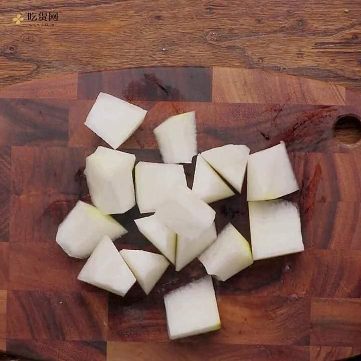 减肥餐香菇烧冬瓜的做法 步骤1