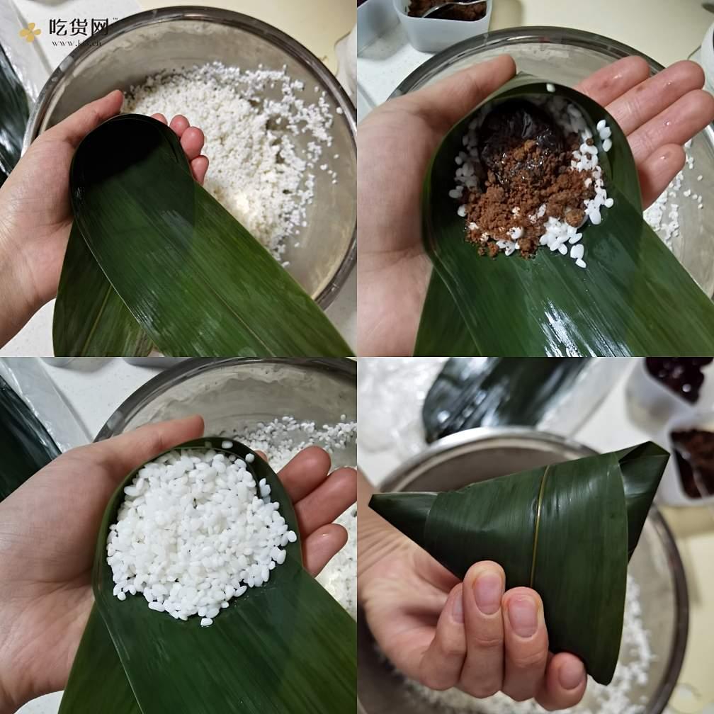 糯米蜜枣粽子的做法 步骤3