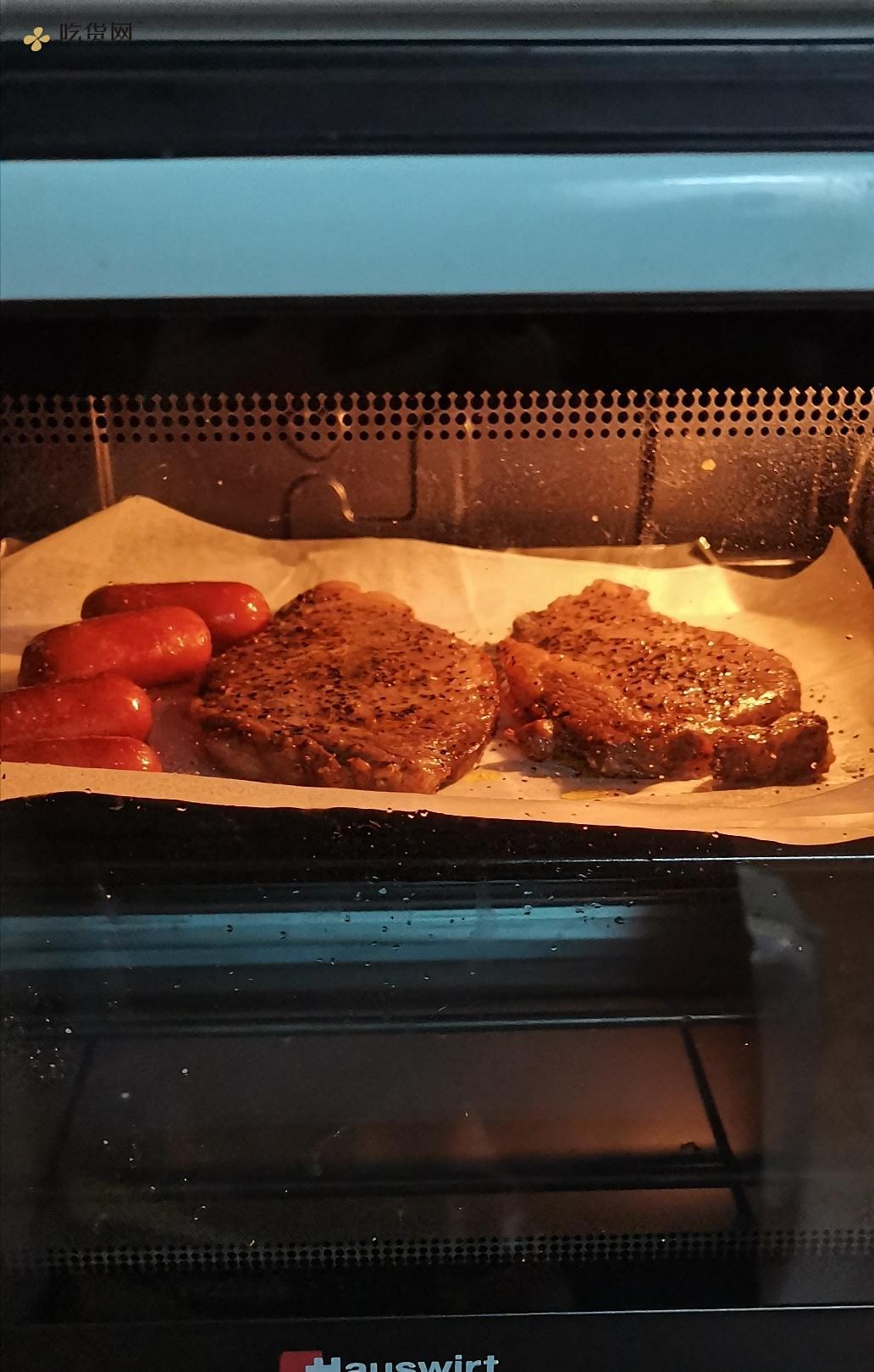 香煎西冷牛排烤箱版的做法 步骤4