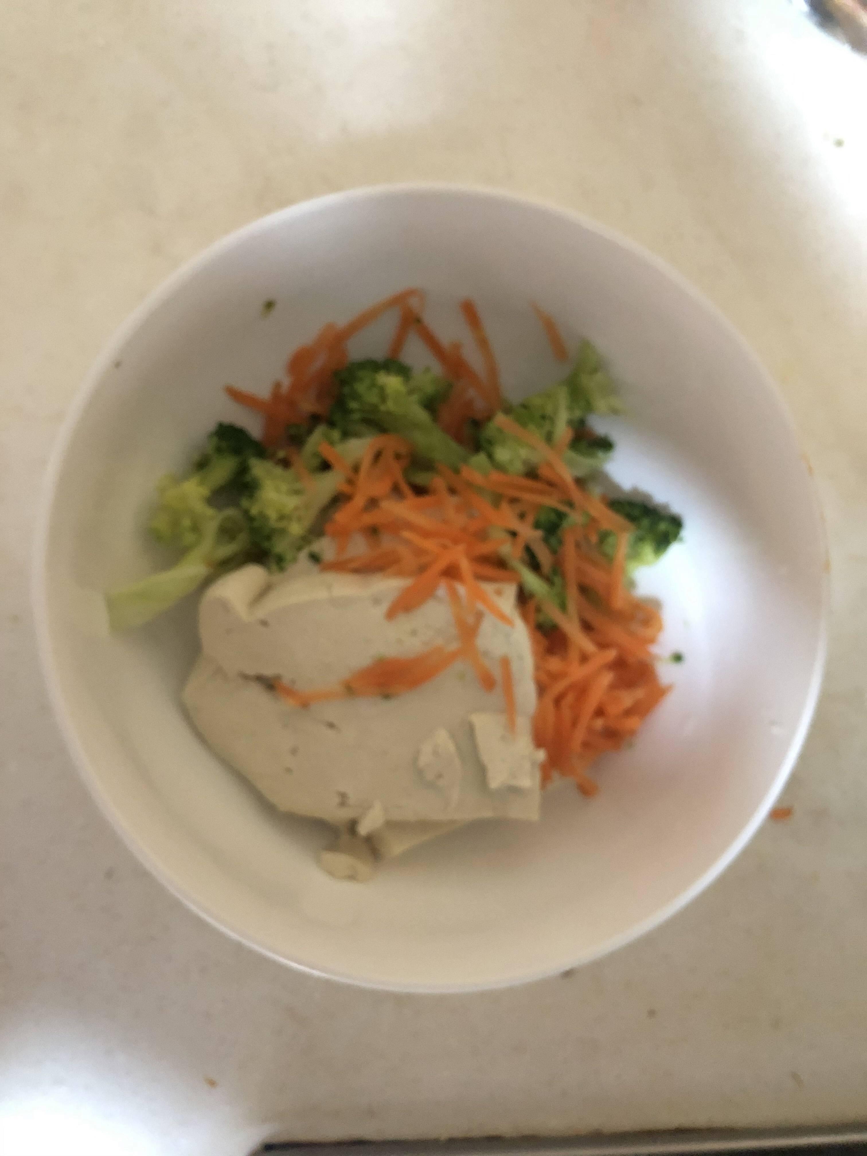 减肥餐「无米老式拌饭」低碳水高蛋白的做法 步骤1