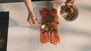 详细菜谱丨惠灵顿牛排的做法 步骤24