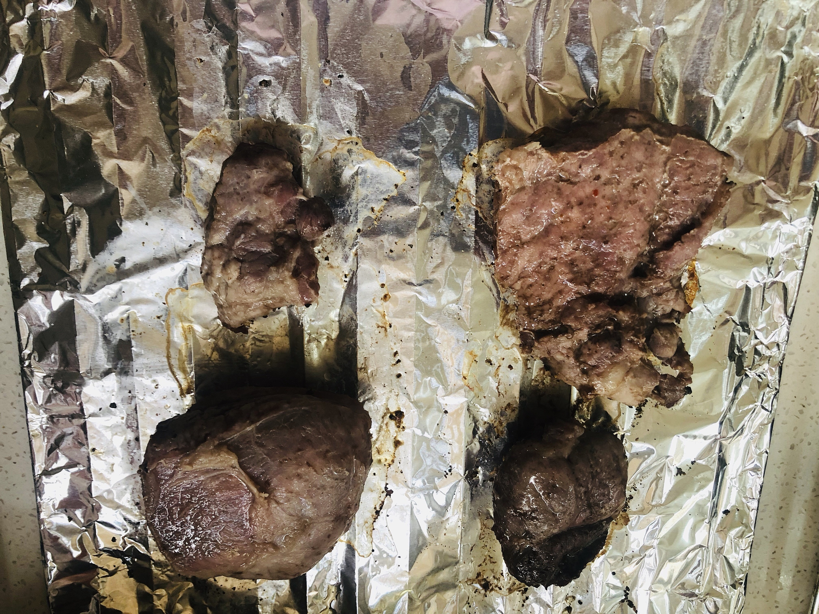 无油减肥烤牛排减肥餐(烤箱版)的做法 步骤3