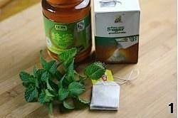 蜂蜜薄荷茶的做法 步骤1
