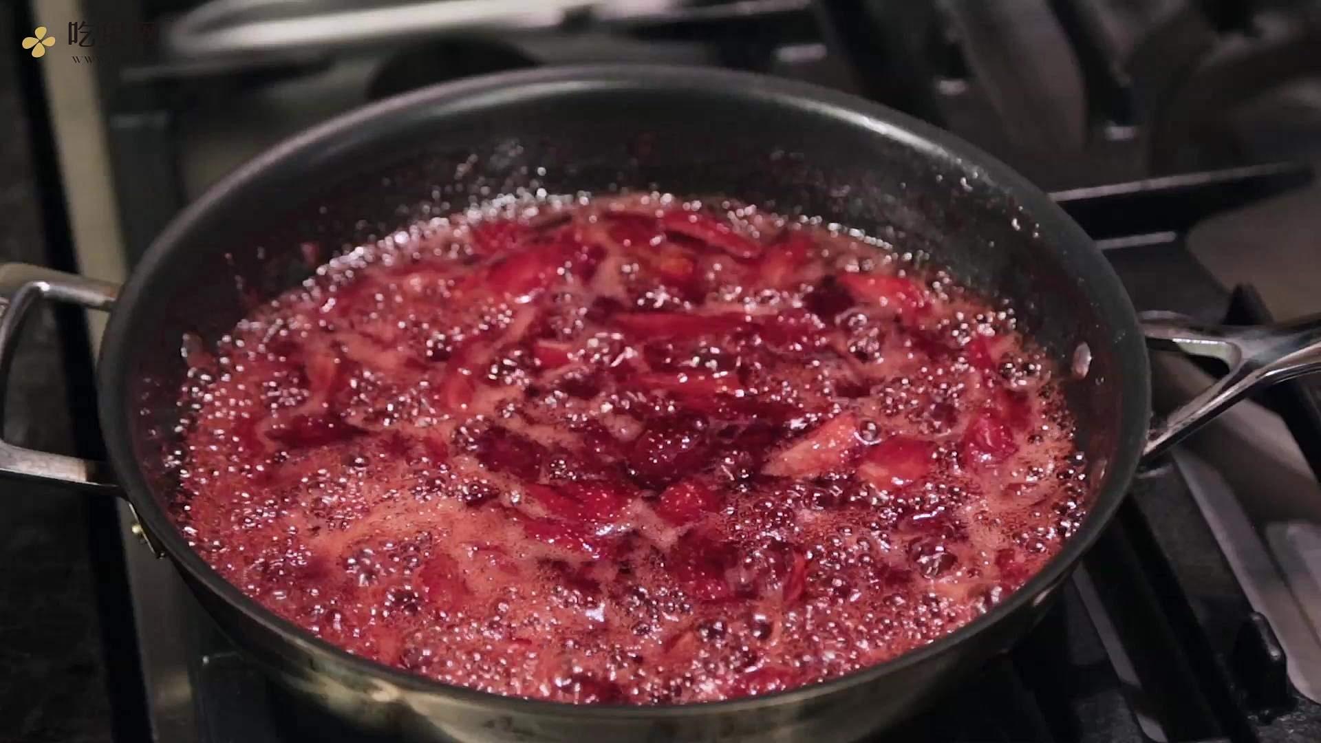 【曼达小馆】下午茶系列:超大大大颗的草莓果酱的做法 步骤3