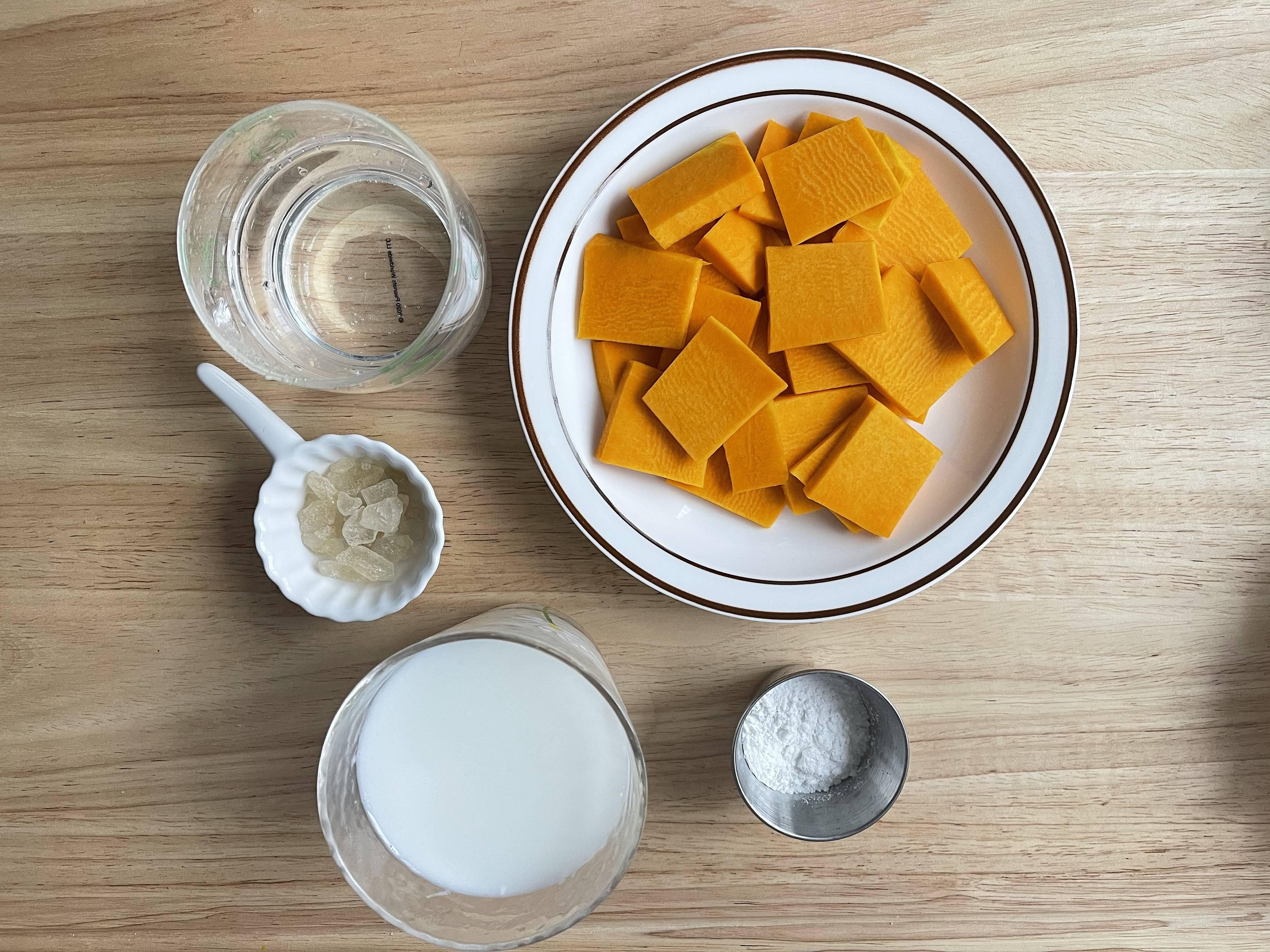 香甜丝滑❗️韩式南瓜粥的做法 步骤1