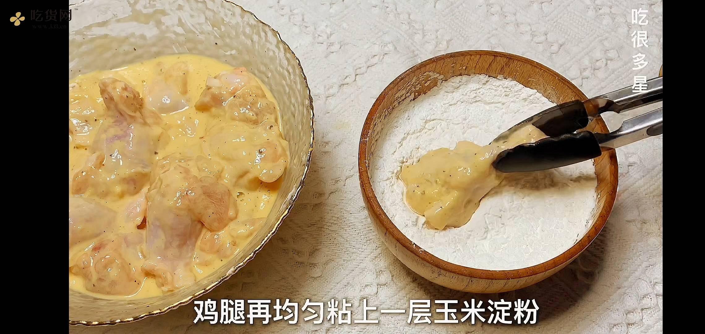 蜂蜜芥末&韩式甜辣  炸鸡的做法 步骤5