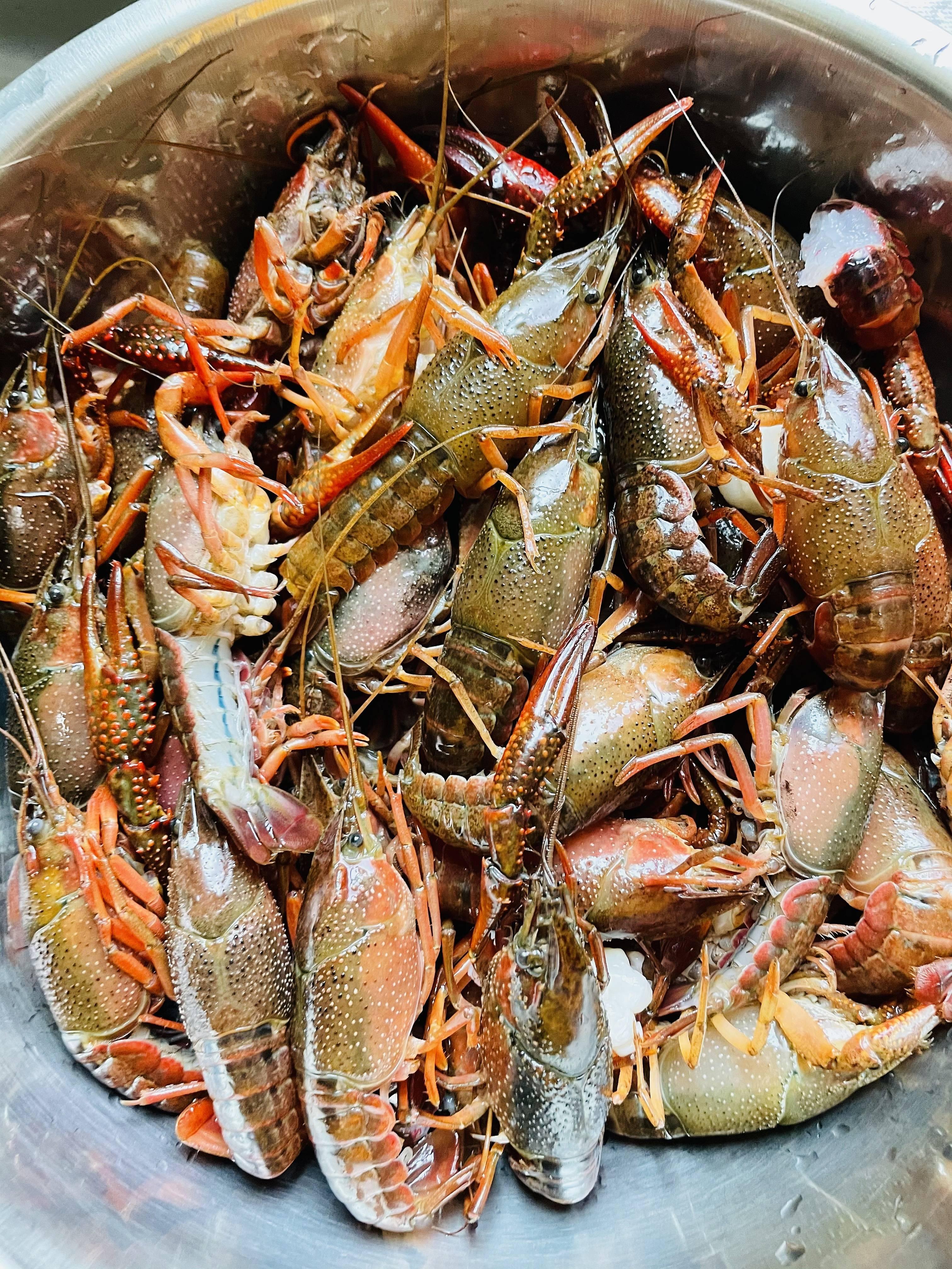 十三香味的麻辣小龙虾的做法 步骤2