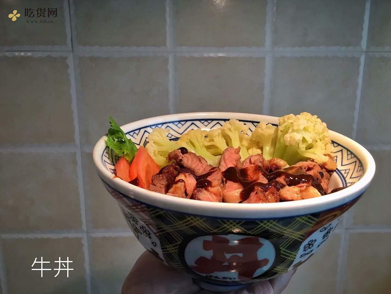 【百合花开】如何煎牛排——牛丼的做法 步骤5