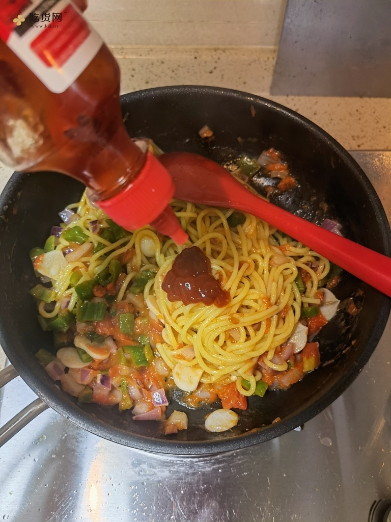 零厨艺都可以做的番茄意大利面的做法 步骤10