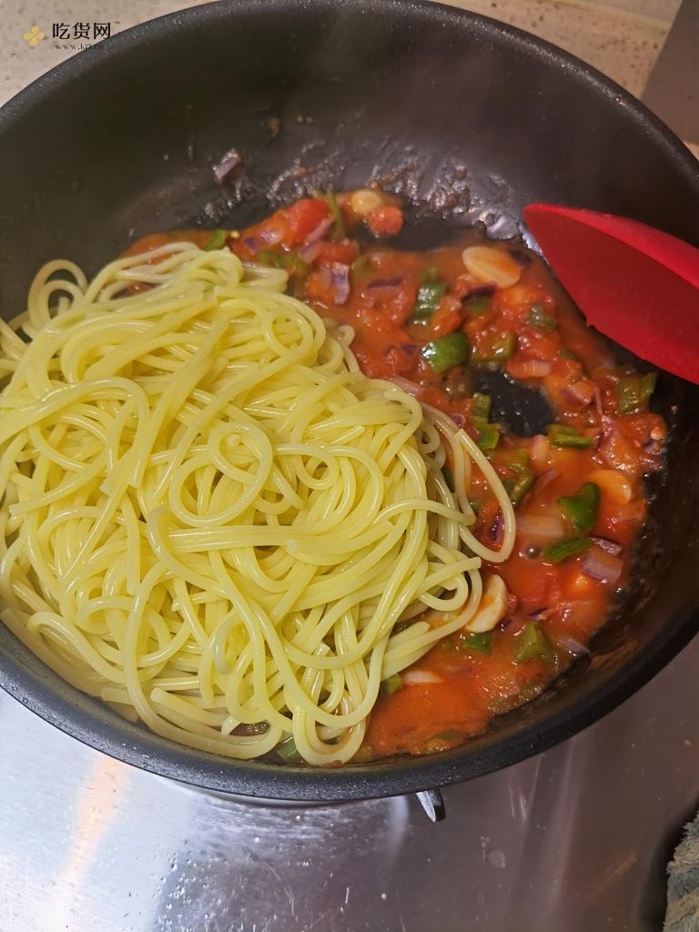 零厨艺都可以做的番茄意大利面的做法 步骤9