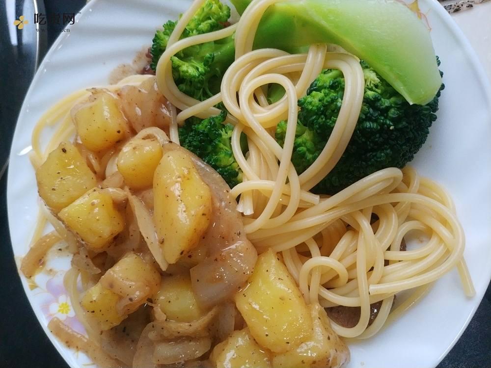 牛排土豆意面的做法 步骤9
