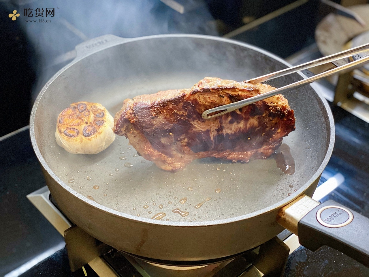 厚切西冷牛排的做法 步骤7