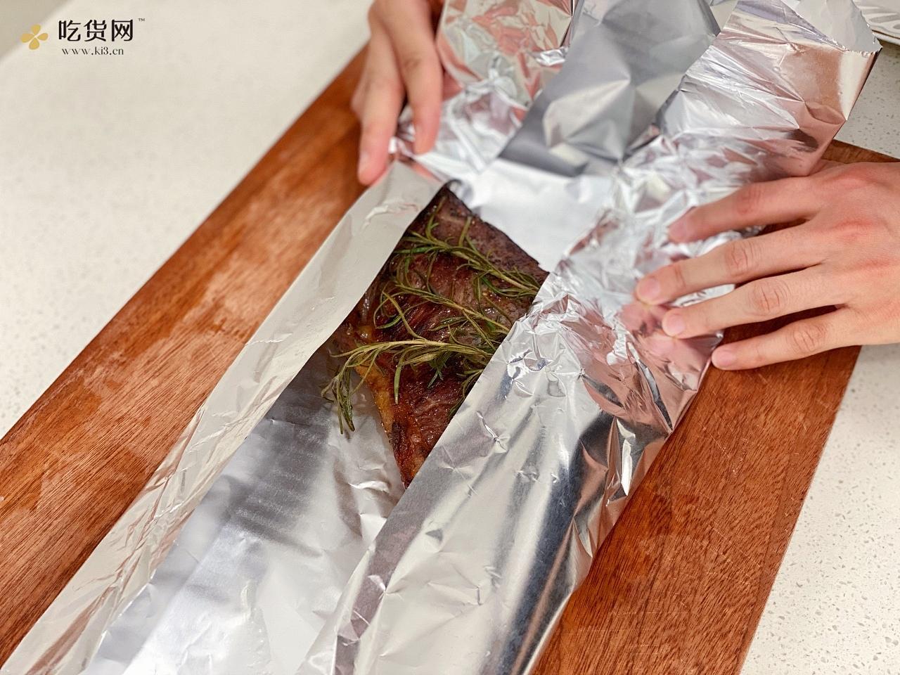 厚切西冷牛排的做法 步骤12