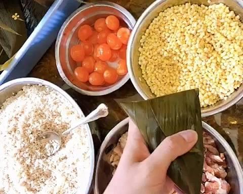 可以一口气吃3个的广式粽子的做法 步骤9