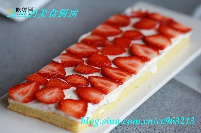 草莓城堡蛋糕的做法 步骤9