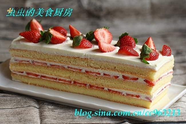 草莓城堡蛋糕的做法 步骤11