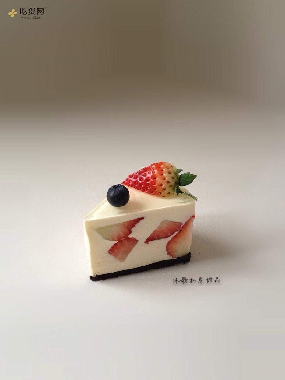 草莓芝士蛋糕的做法 步骤9