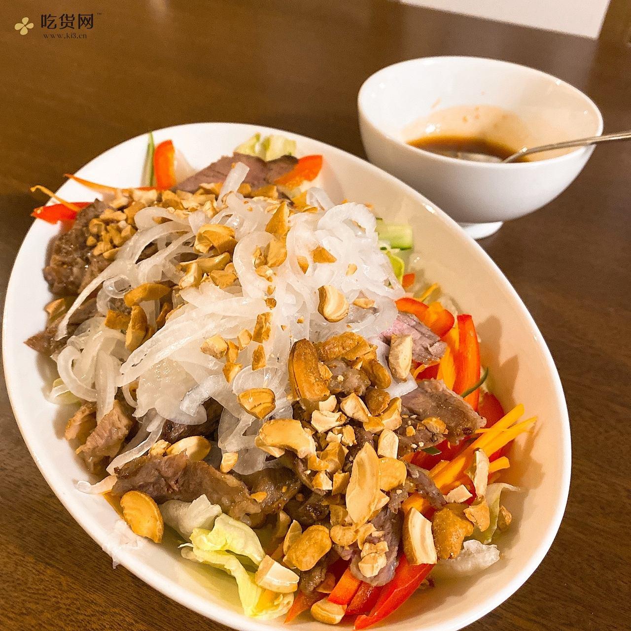超清爽牛排沙拉,沙拉也能当主菜吃的做法 步骤9