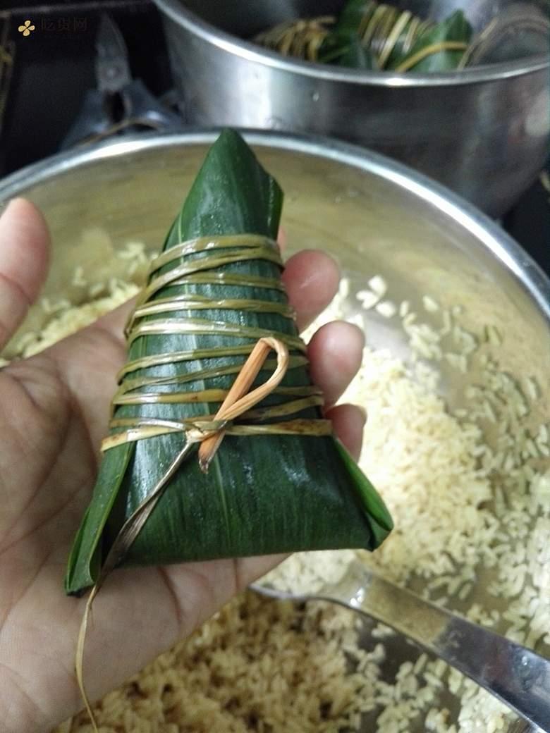 软滑Q弹灰水粽(枧水粽)粽子系列1#附加粽干做法&食用方法的做法 步骤9