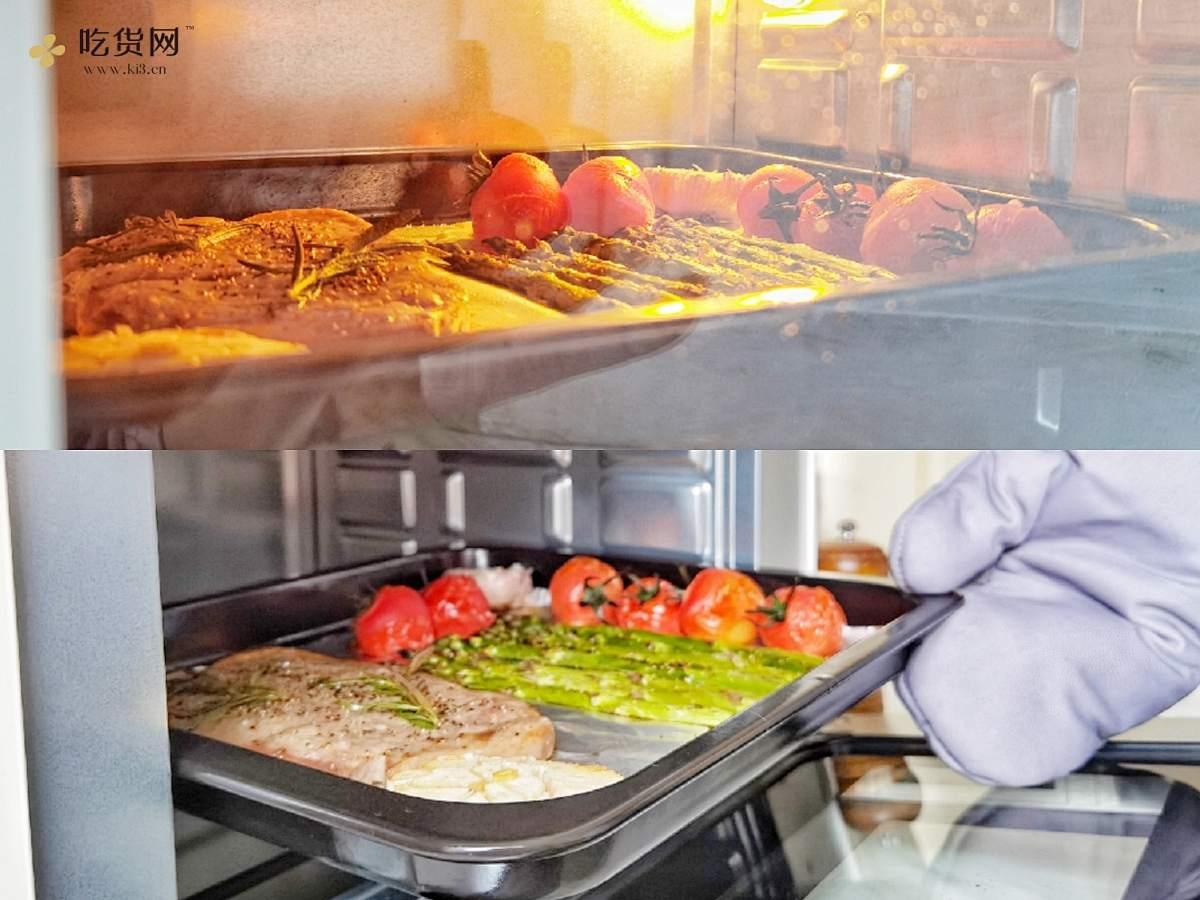 精致晚餐--烤鲜嫩多汁牛排&气炸蜜薯角的做法 步骤14