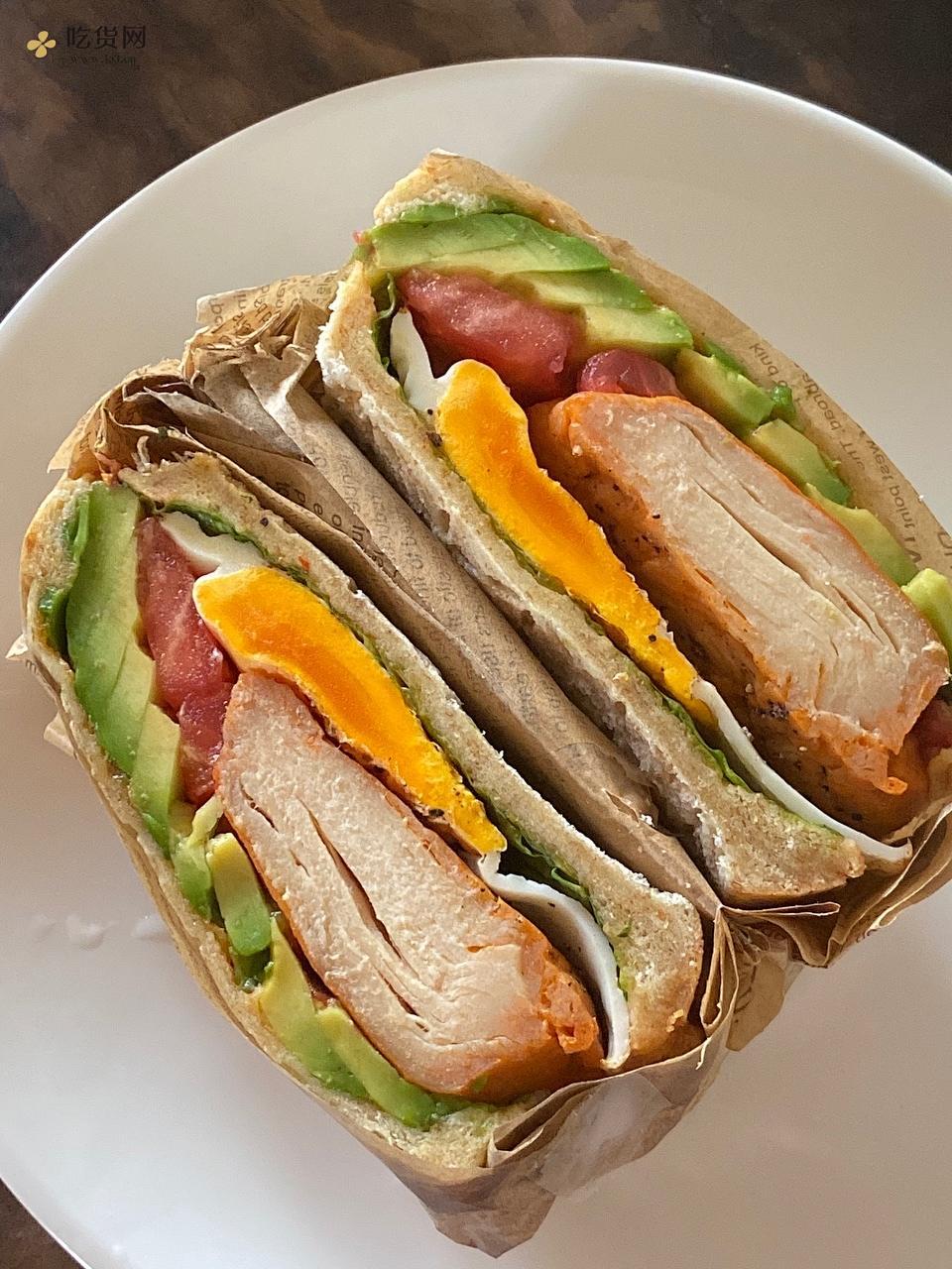 多款低热量帕尼尼 让你的早餐不再单调的做法 步骤7