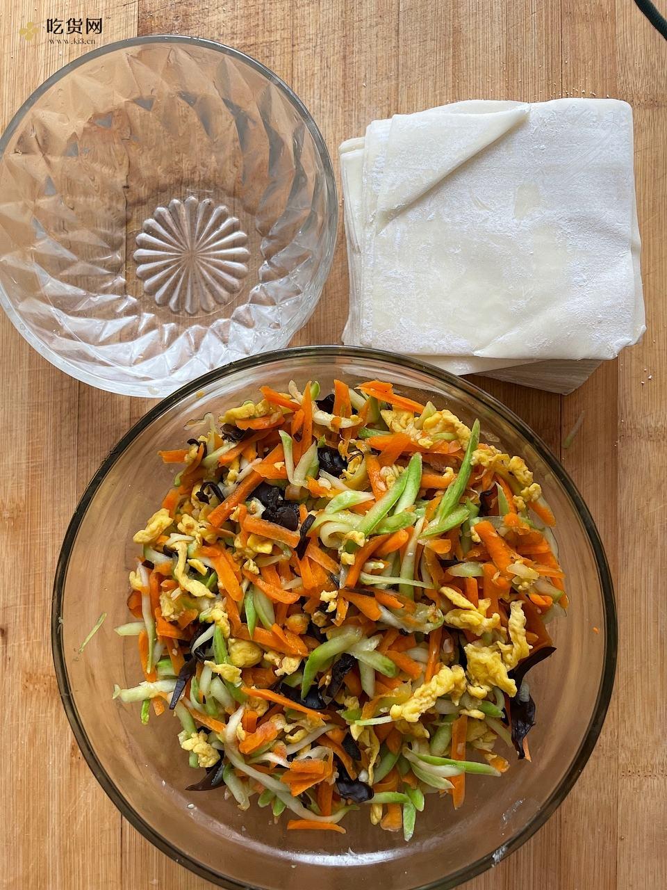 有滋有味减肥餐~低脂又营养的蔬菜包的做法 步骤6