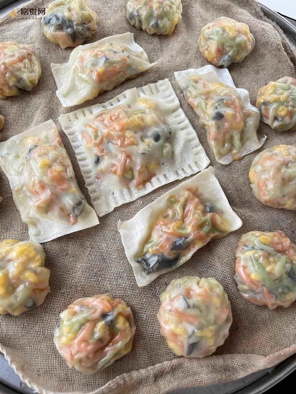 有滋有味减肥餐~低脂又营养的蔬菜包的做法 步骤11