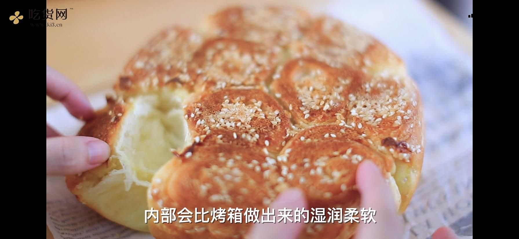 蜂蜜小面包(电饭煲和烤箱两个版本)的做法 步骤20