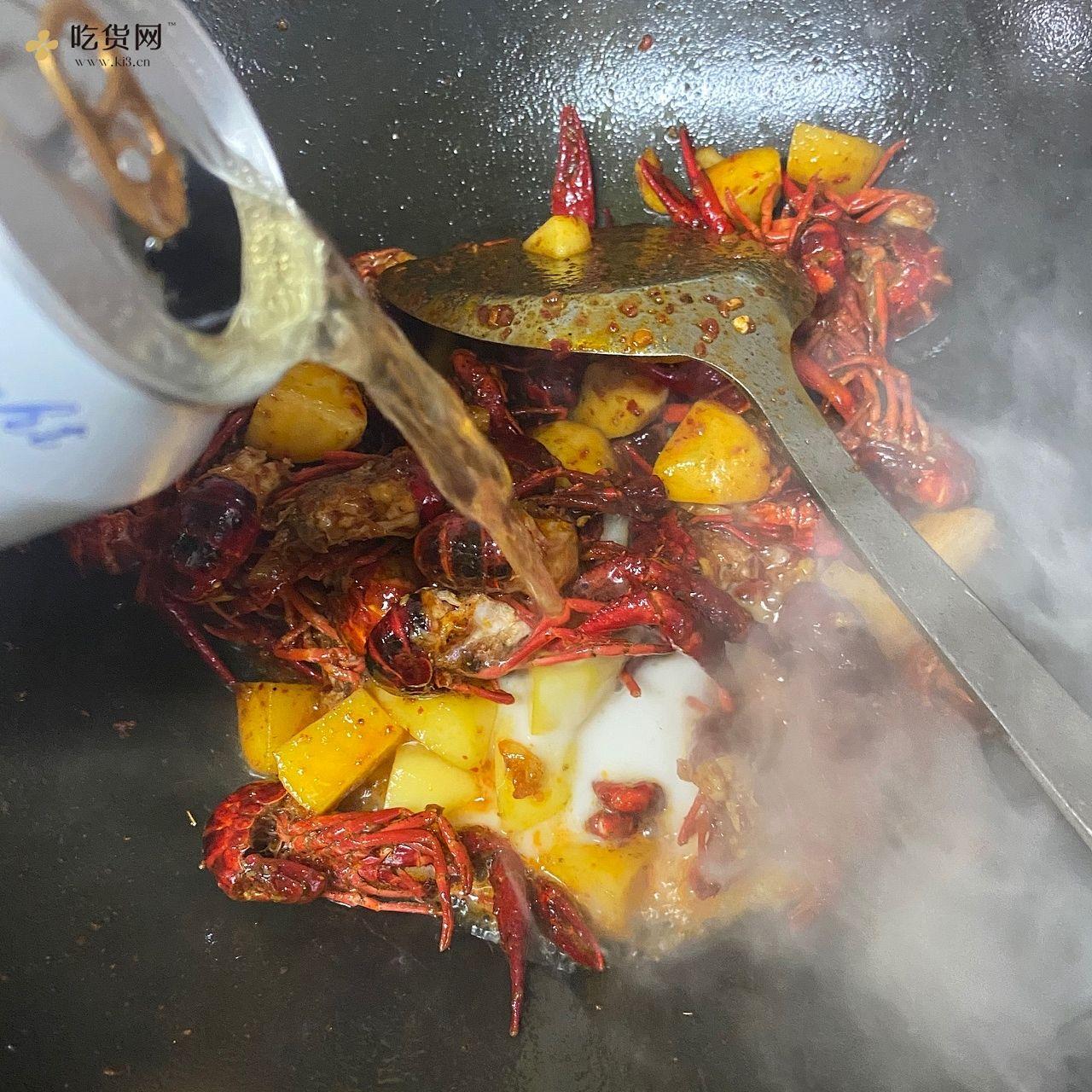 新手也能做的麻辣小龙虾的做法 步骤8