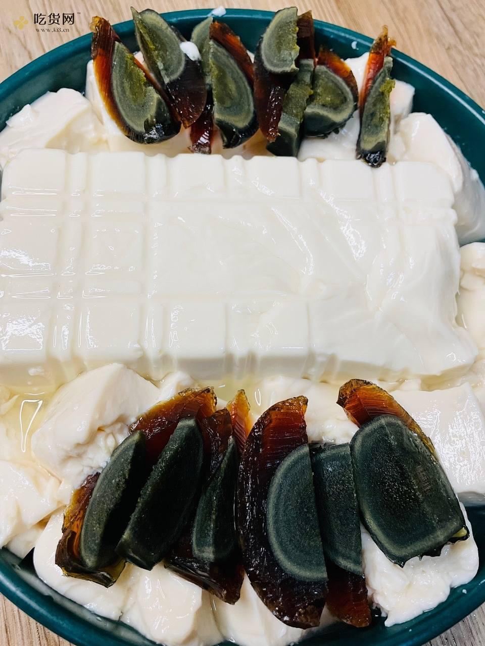 虎皮尖椒皮蛋拌豆腐——拯救没胃口的做法 步骤2