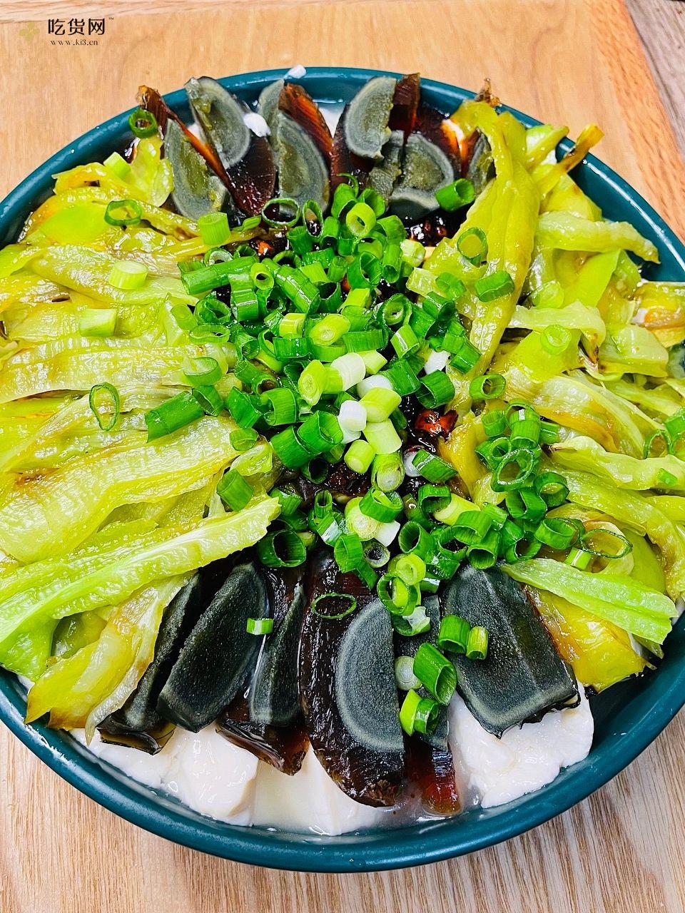 虎皮尖椒皮蛋拌豆腐——拯救没胃口的做法 步骤5